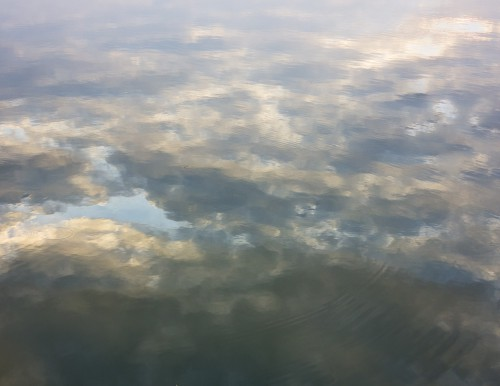 Clouds Reflected In Water, High Resolution