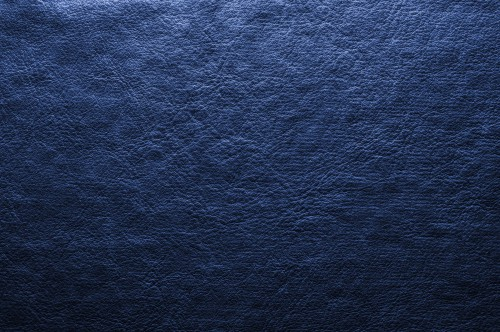 Dark Blue Leather Background, High Resolution