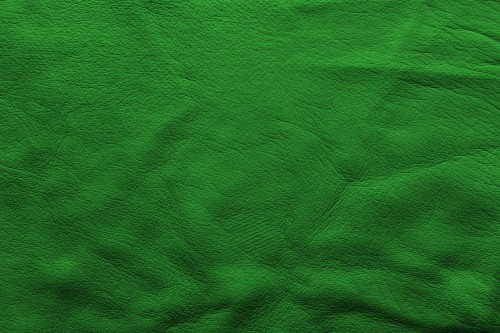 Dark Green Soft Leather Background, High Resolution