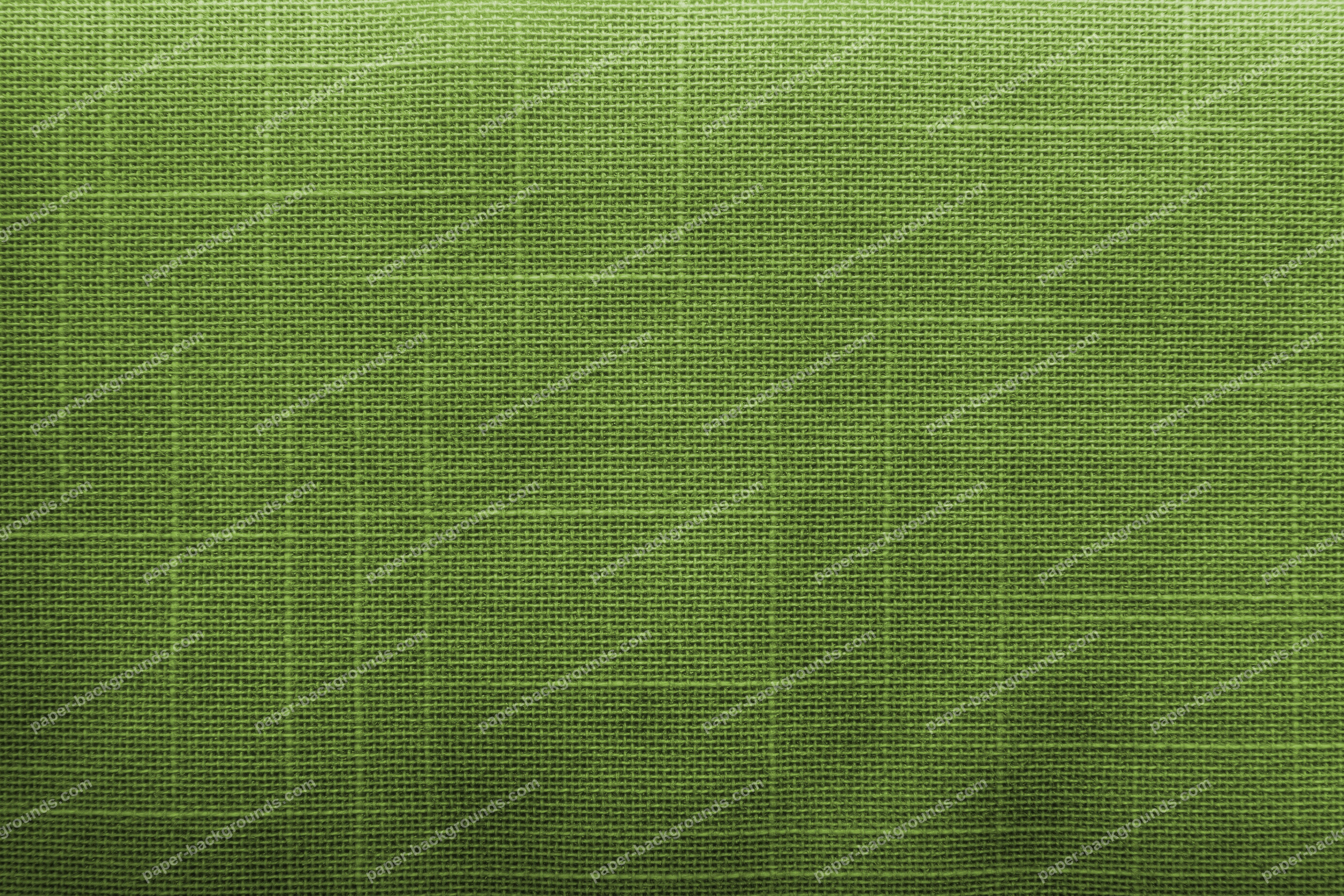 Green Canvas Fabric Texture