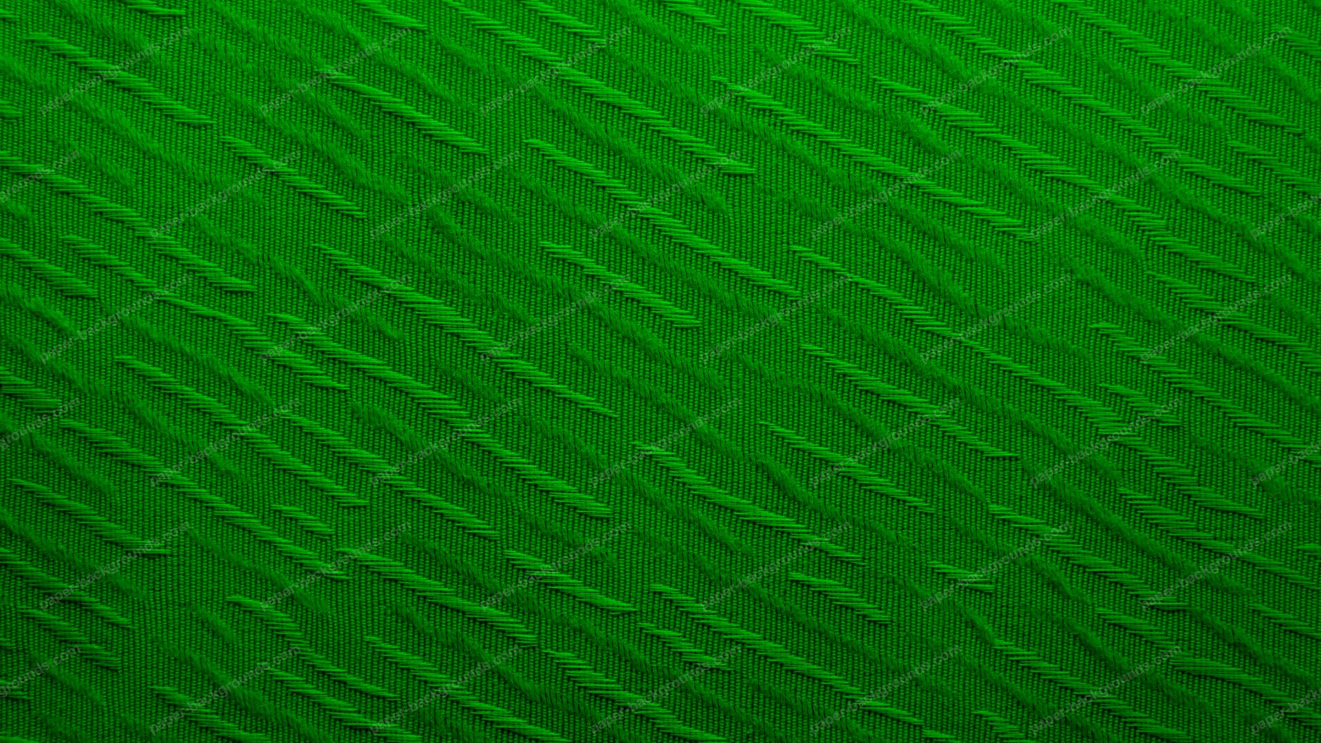 Green Diagonal Decorated Fabric HD 1920 x 1080p