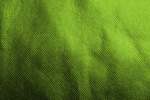 Green Fabric Material With Pattern, High Resolution