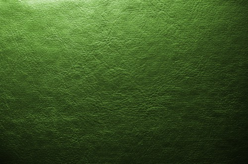 Green Leather Background Texture, High Resolution