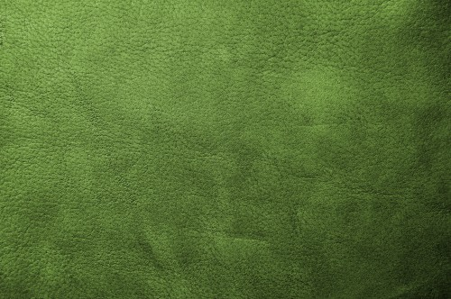 Green Leather Texture Background, High Resolution