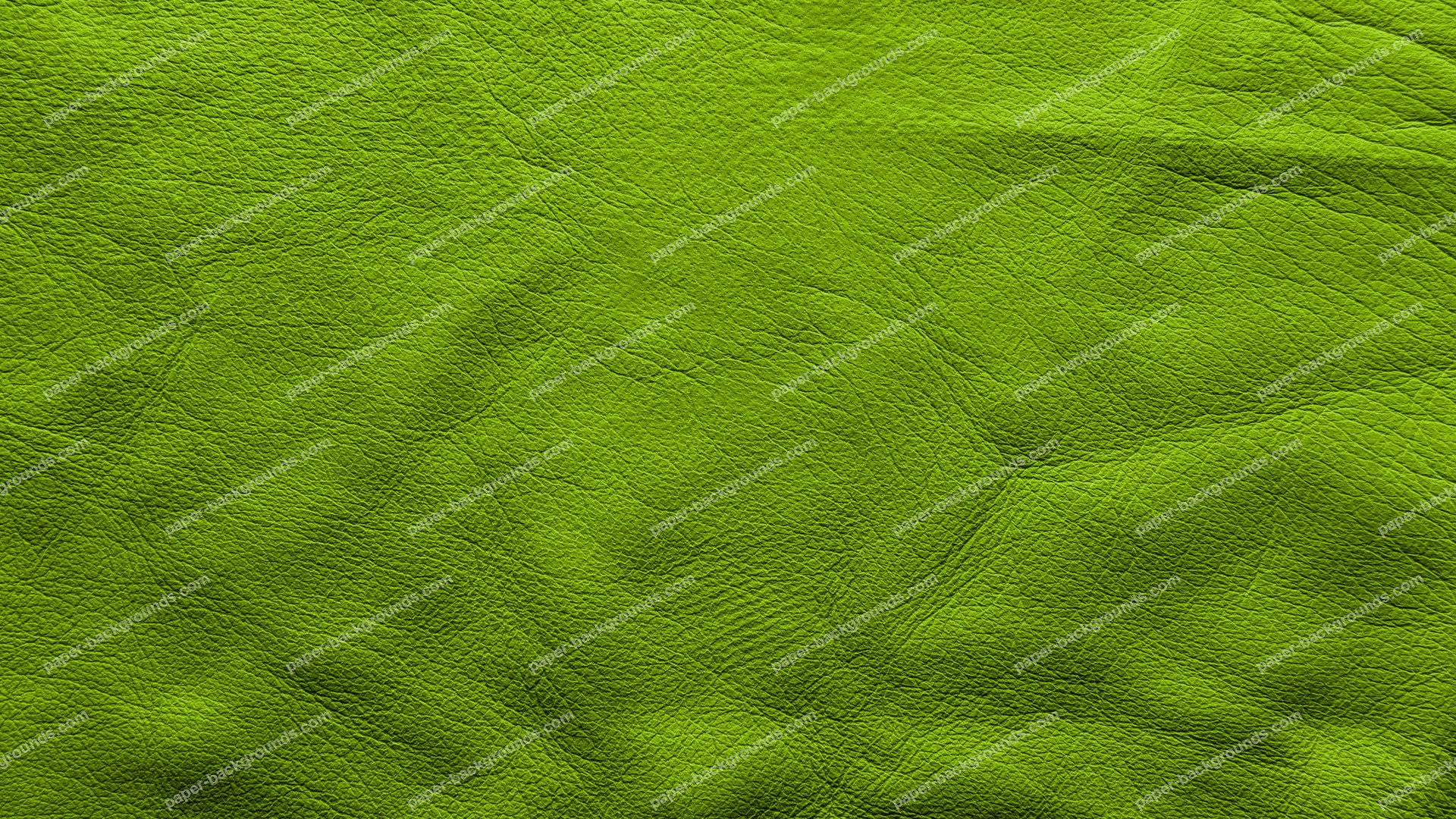 Green Soft Leather Background HD 1920 x 1080p