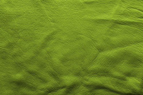 Green Soft Leather Background, High Resolution