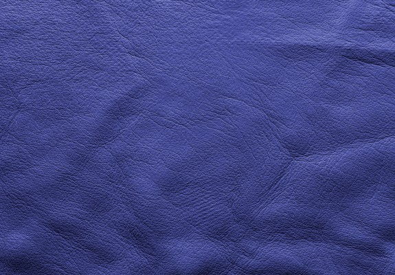 Indigo Blue Soft Leather Background