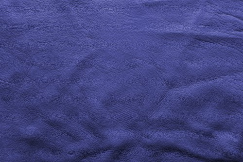 Indigo Blue Soft Leather Background, High Resolution