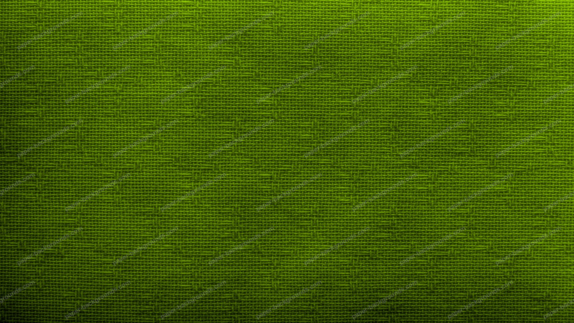 Lime Green Canvas Texture Background HD 1920 x 1080p