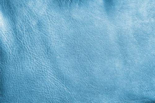 Marine Blue Leather Texture, High Resolution