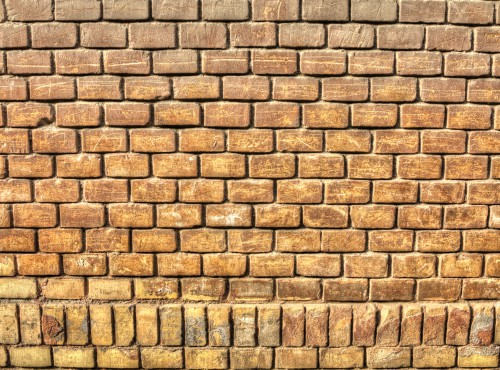 Old Grungy Brick Wall, High Resolution