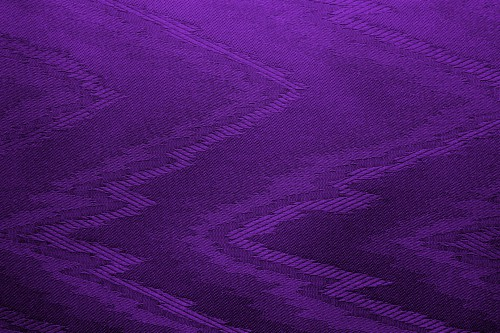 Purple Canvas With Zigzag Pattern, High Resolution