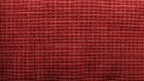 Red Canvas Fabric Texture HD 1920 x 1080p