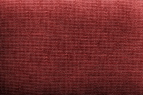 Red Canvas Texture Background, High Resolution