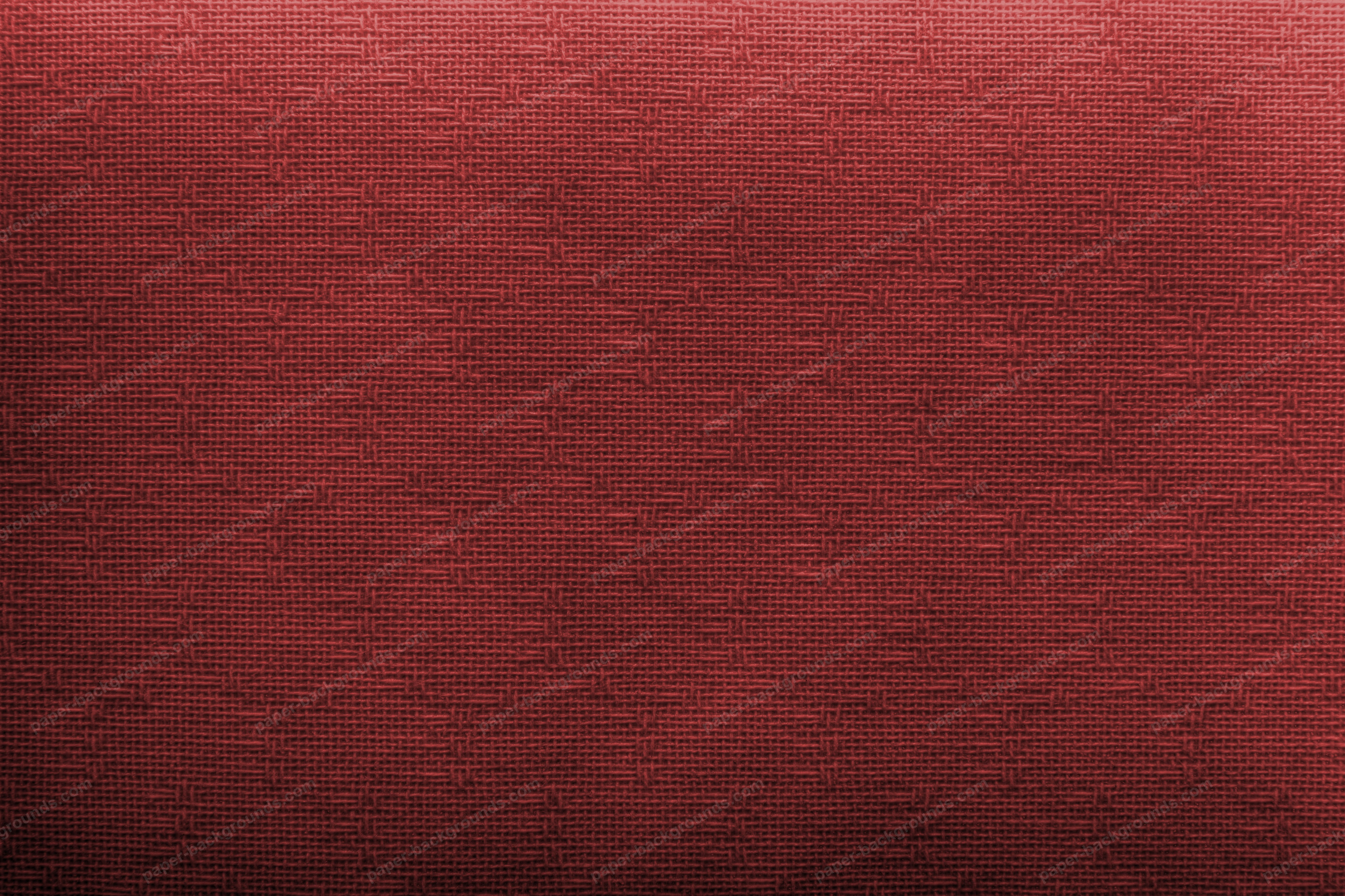 Red Canvas Texture Background High Resolution