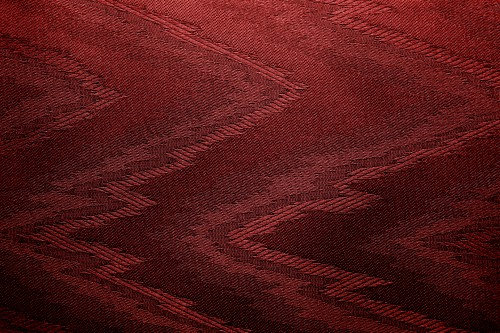 Red Canvas With Zigzag Design, High Resolution