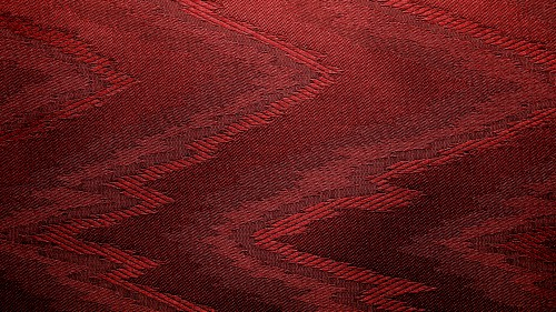 Red Canvas With Zigzag Design HD 1920 x 1080p