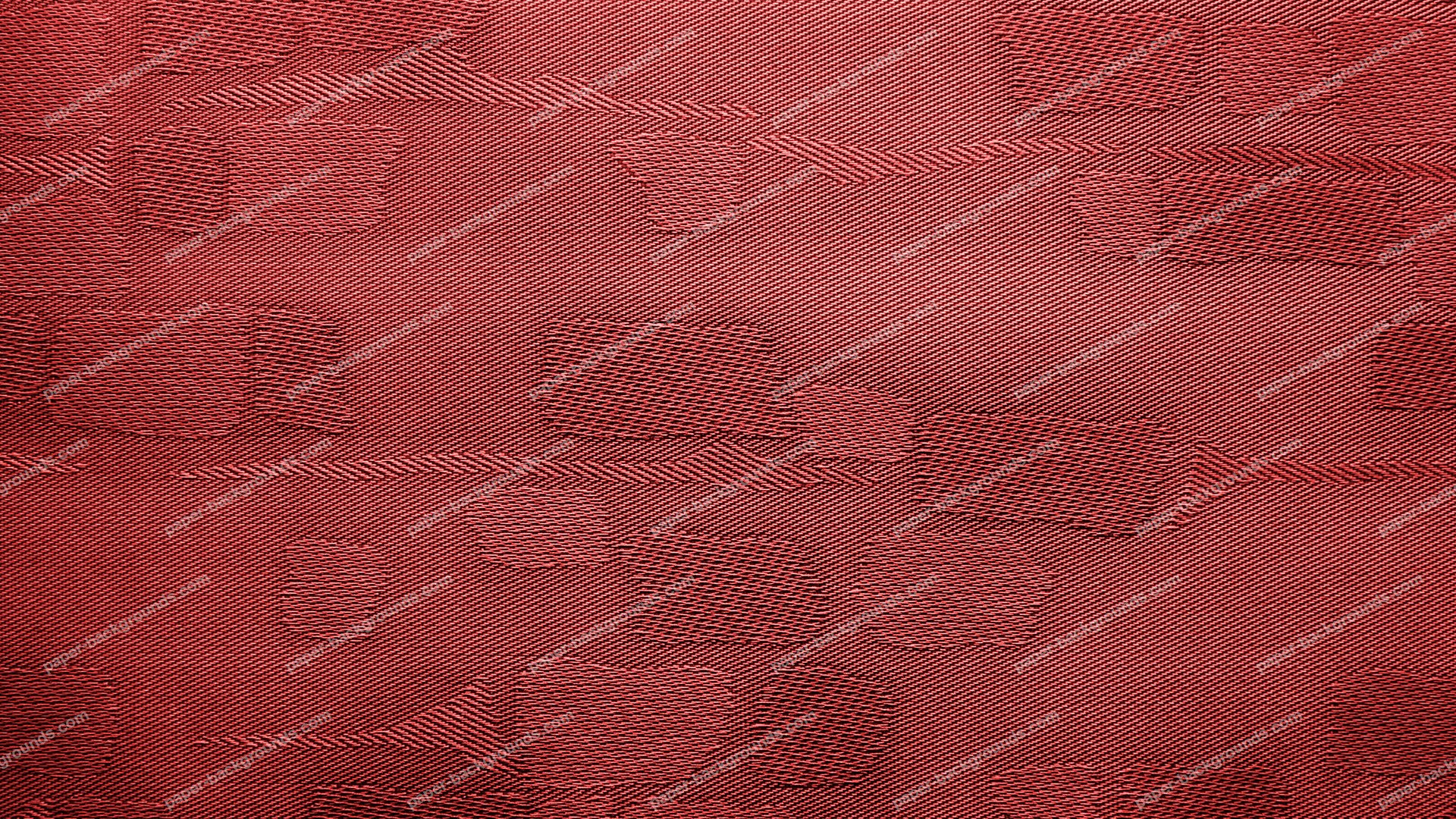 Red Fabric Background With Patches HD 1920 x 1080p