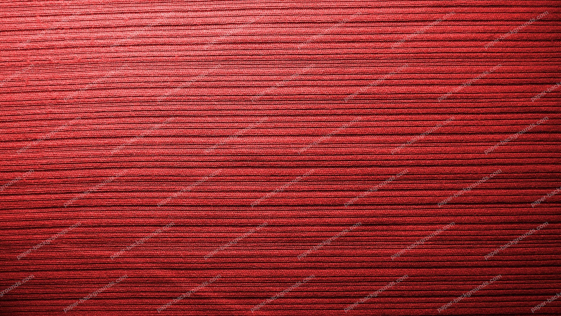 Red Fabric Background With Stripes HD 1920 x 1080p