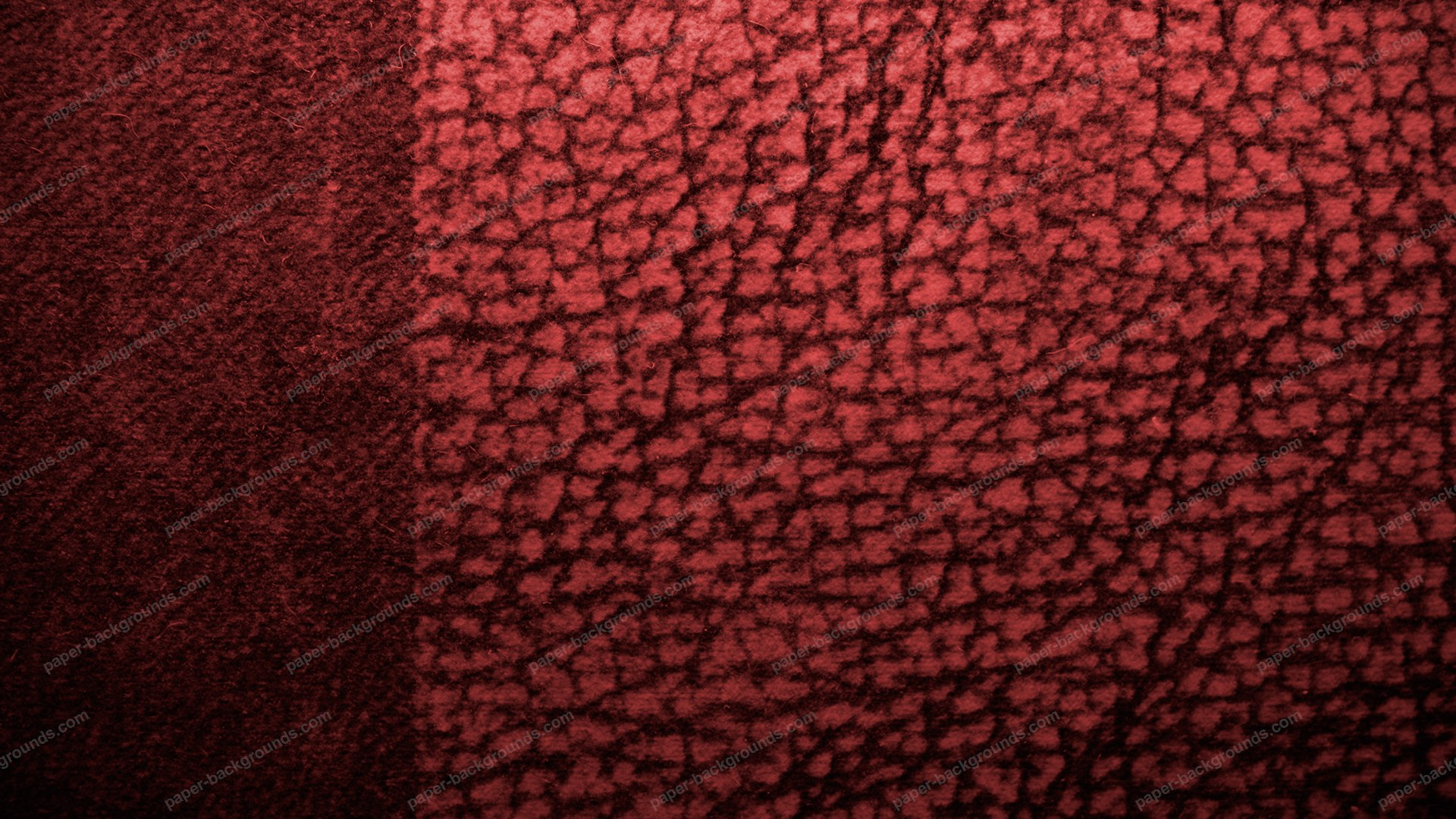 Red Fabric Design Background HD 1920 x 1080p