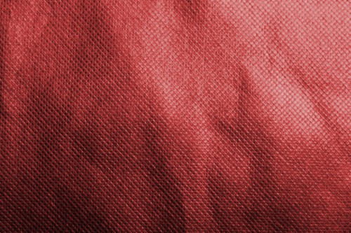 Red Fabric Material With Pattern, High Resolution