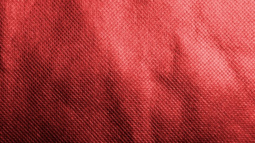 Paper backgrounds red fabric material with pattern