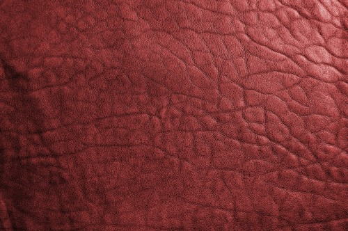 Red Leather Texture, High Resolution