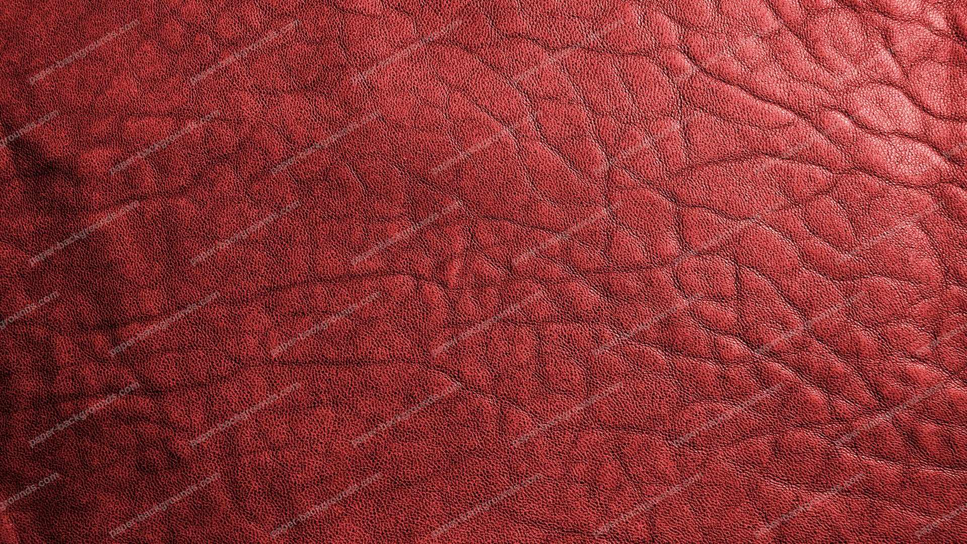 Red Leather Texture HD 1920 x 1080p