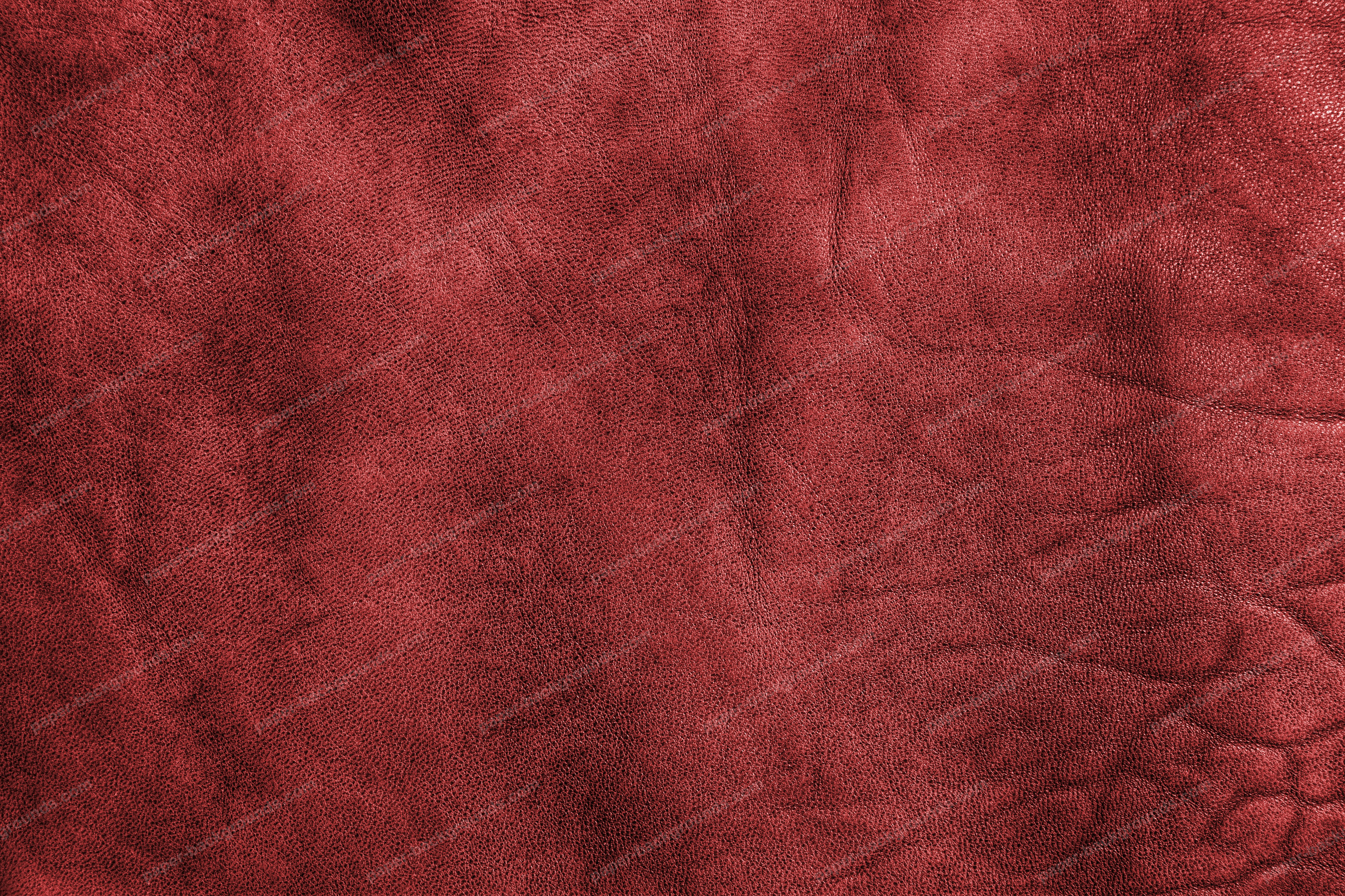 Red Vintage Leather Texture High Resolution
