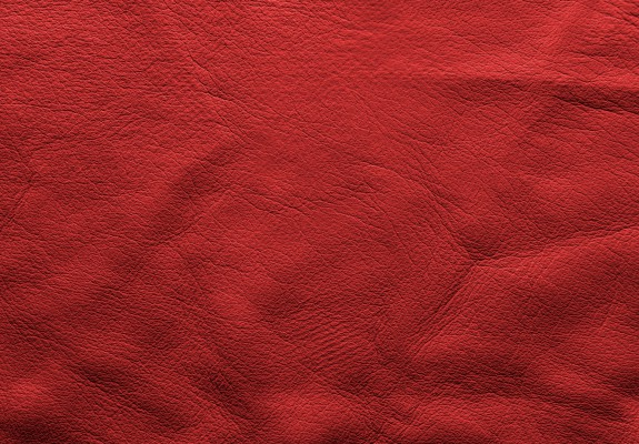 Red Vintage Soft Leather Background