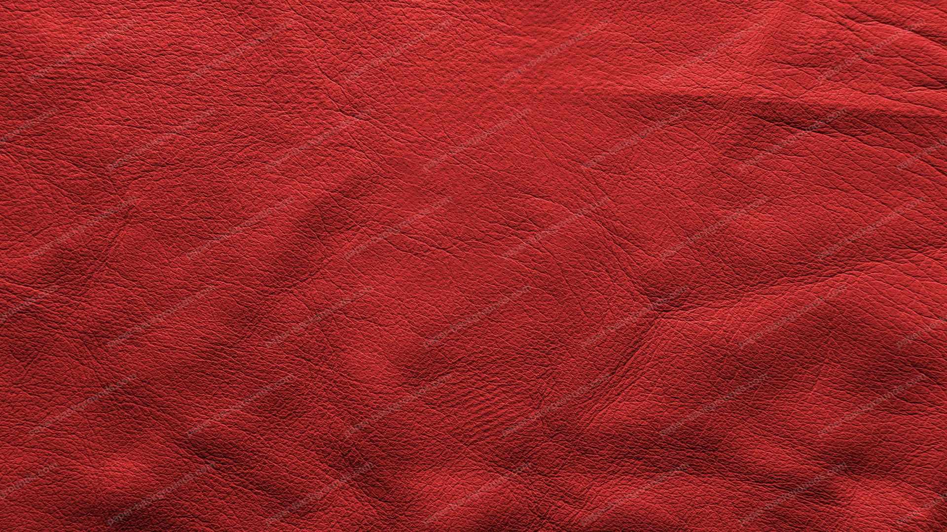 Red Vintage Soft Leather Background HD 1920 x 1080p