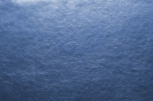 Shiny Blue Leather Background, High Resolution