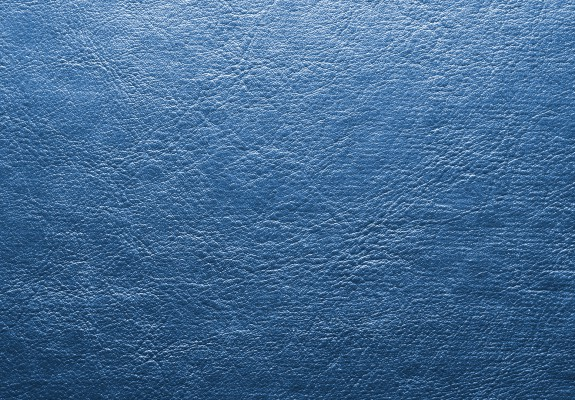 Shiny Blue Leather Background
