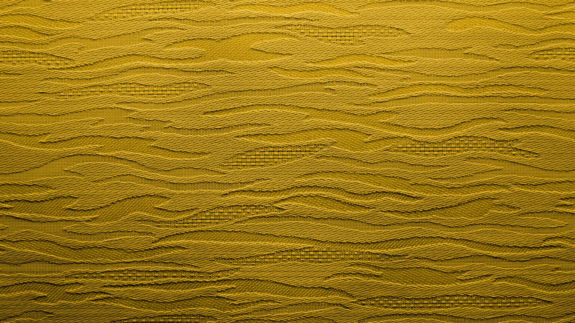 Yellow Fabric Background With Waves HD 1920 x 1080p
