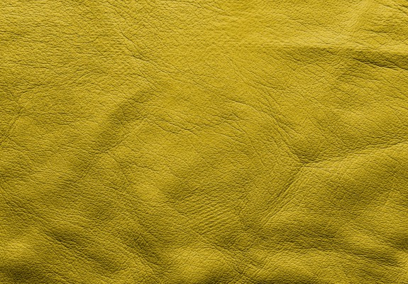 Yellow Soft Leather Background
