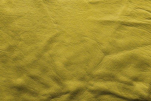 Yellow Soft Leather Background, High Resolution