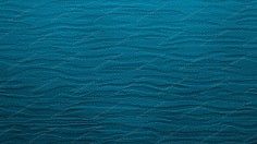 Blue Fabric Background With Waves