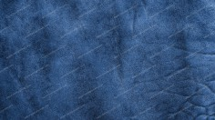 Blue Vintage Leather Texture Background