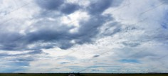 Dramatic Sky Clouds Panorama