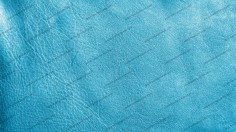 Marine Blue Leather Texture