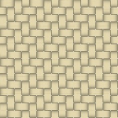 Seamless Yellow Basket Twill Texture